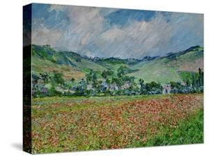 A Field of Poppies by Claude Monet