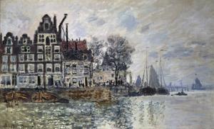 Ansicht Von Amsterdam (Het Kamperhoofd), um 1874 by Claude Monet