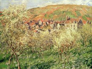 Apple Trees in Blossom, 1879 by Claude Monet
