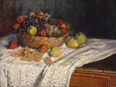 Apples and Grapes, 1879–80 by Claude Monet