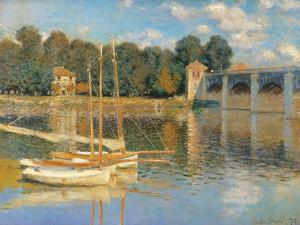 Argenteuil Bridge by Claude Monet