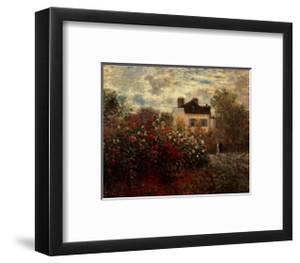 Artist's Garden in Argenteuil by Claude Monet