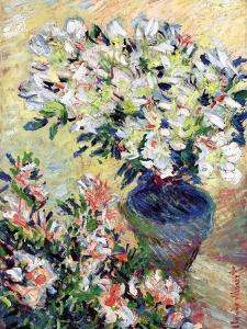 Azaleas, 1885 by Claude Monet