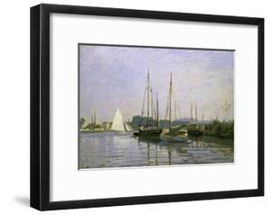 Bateau de Plaisance, Argenteuil by Claude Monet