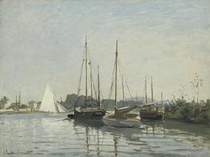 Bateaux de plaisance ,Argenteuil by Claude Monet