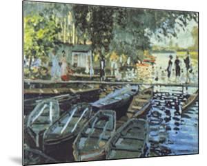 Bathers at La Grenouillers, c.1869 by Claude Monet