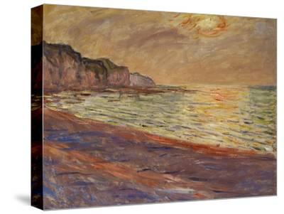 Beach at Pourville, Sunset, 1882