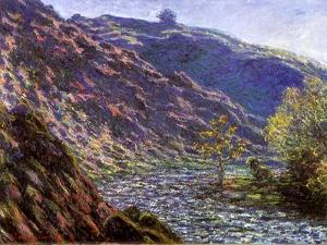 Bend in the River, 1888 by Claude Monet