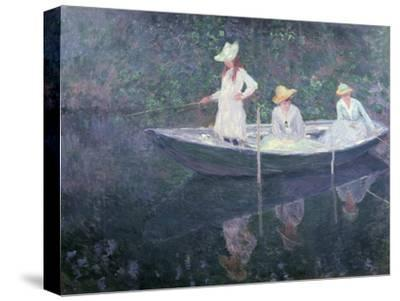 Boat the 'Norvegienne' at Giverny, France, c. 1887