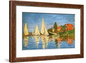 Boating at Argenteuil by Claude Monet