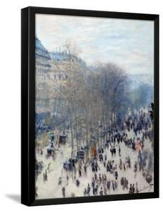 Boulevard Des Capucines by Claude Monet