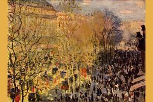 Boulevard of Capucines in Paris by Claude Monet
