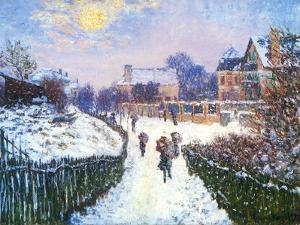 Boulevard Saint-Denis, Argenteuil, 1875 by Claude Monet
