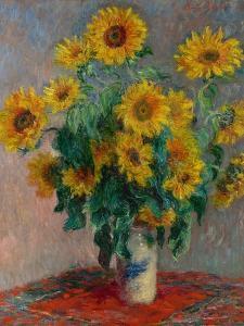 Bouquet of Sunflowers, 1881 by Claude Monet