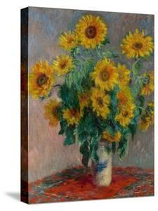Bouquet of Sunflowers, 1881 by Claude Monet