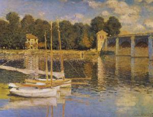 Bridge at Argenteuil by Claude Monet