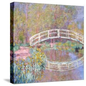 Bridge in Monet's Garden, 1895-96 by Claude Monet