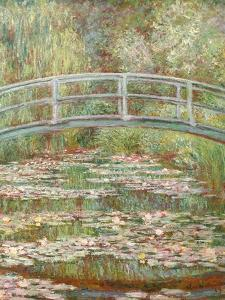 Bridge over a Pond of Water Lilies by Claude Monet