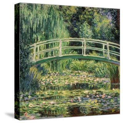 Bruecke in Monets Garten Mit Weissen Seerosen, 1899