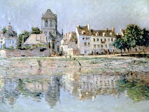By the River at Vernon, 1883 by Claude Monet