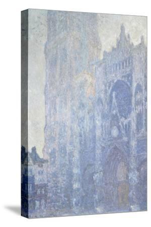 Cathédrale de Rouen. Le portail et la tour Saint-Romain, effet du matin, harmonie blanche