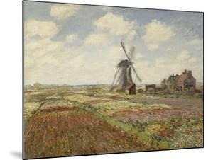 Champs de tulipes en Hollande by Claude Monet