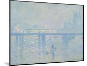 Charing Cross Bridge, 1899 by Claude Monet