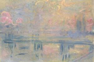 Charing Cross Bridge, C.1900 by Claude Monet