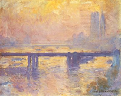 Charing Cross Bridge, c.1905 by Claude Monet