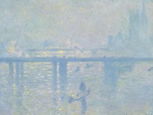 Charing-Cross Bridge in London, 1899 by Claude Monet