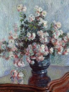 Chrysanthemums, 1882 by Claude Monet