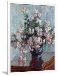 Chrysanthemums, 1882 by Claude Monet