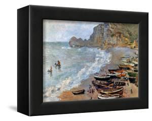 Claude Monet: Etretat, 1883 by Claude Monet