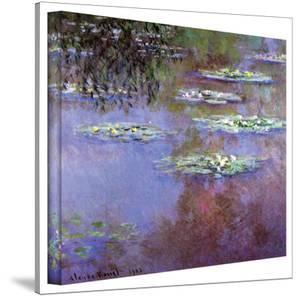 Claude Monet 'Sea Roses II' Gallery Wrapped Canvas by Claude Monet
