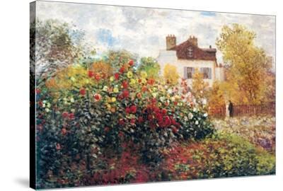 Claude Monet The Artist's Garden Art Print Poster