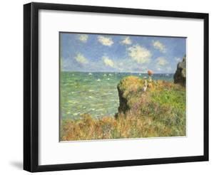 Cliff Walk at Pourville, 1882 by Claude Monet