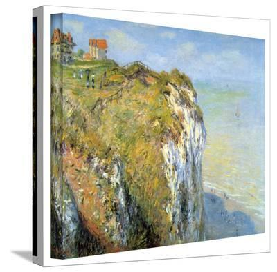 Claude Monet 'Cliffs' Gallery Wrapped Canvas-Claude Monet-Gallery Wrapped Canvas