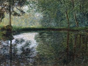 Coin D'Etang A Montgeron, 1876 by Claude Monet