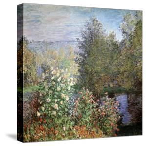 Corner of the Garden at Montgeron, C1876 by Claude Monet