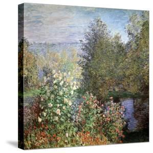 Corner of the Garden at Montgeron, C1876 by Claude Monet