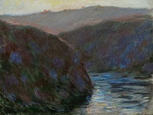 Creuse Valley, Evening, 1889 by Claude Monet