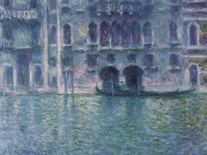 Der Palazzo De Mula in Venedig, 1908 by Claude Monet