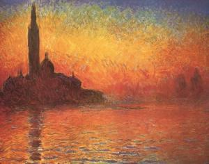 Dusk, 1908 by Claude Monet