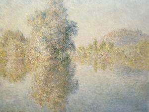 Early Morning on the Seine at Giverny, 1893 by Claude Monet