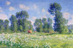 Effect of Spring, Giverny, 1890 by Claude Monet
