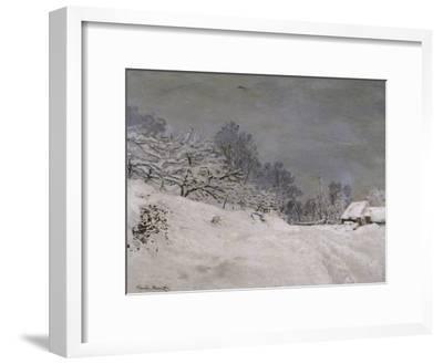 Environs de Honfleur, neige