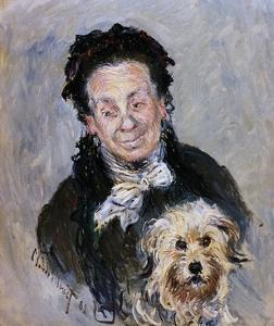 Eugenie Graff (Madame Paul) by Claude Monet