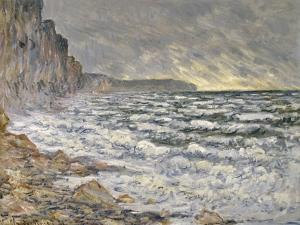 Fécamp, bords de mer by Claude Monet