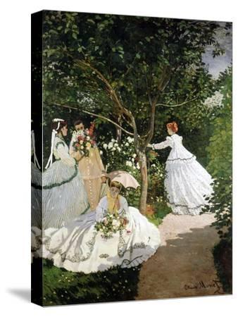 Femmes au jardin (Women in the Garden), 1866-67