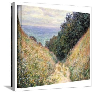 Claude Monet 'Footpath' Wrapped Canvas Art-Claude Monet-Gallery Wrapped Canvas